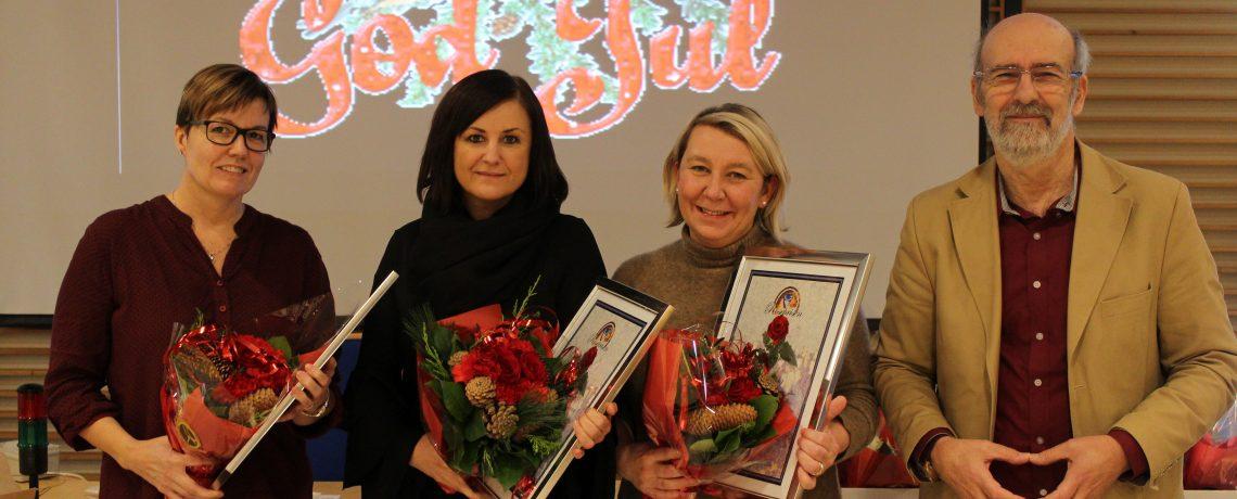 Roseprisen for 2017 gikk til Anne, Ann Merete og Elin