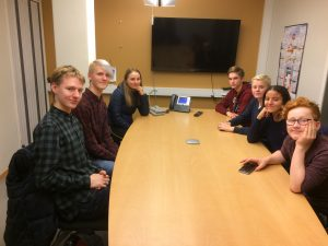Hitra ungdomsråd (HUR) 2017 - 2018