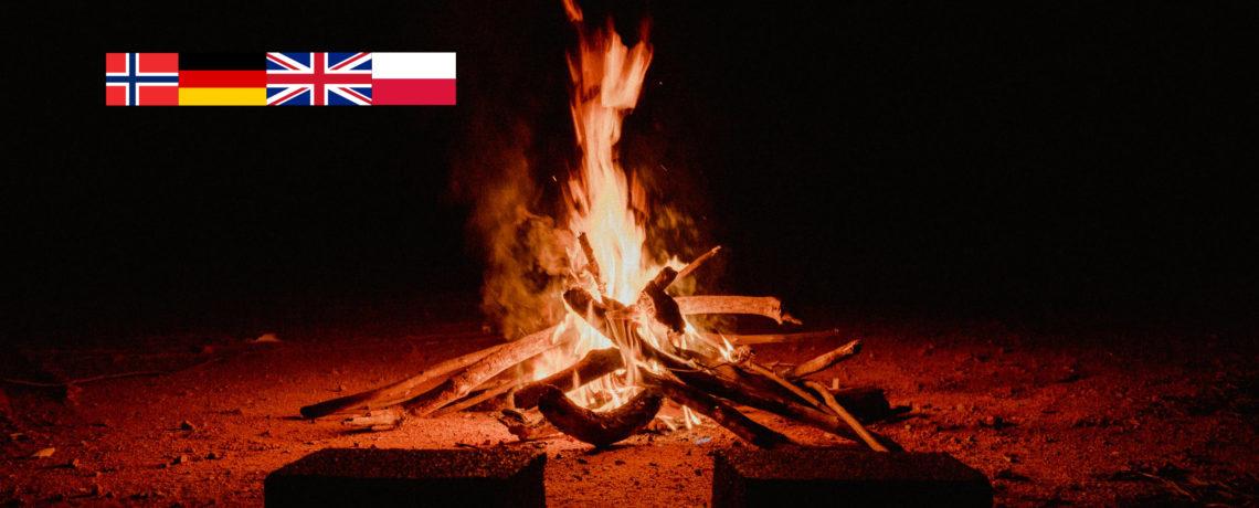 Dette må du vite før du tenner bål / Be aware of this before lighting a campfire