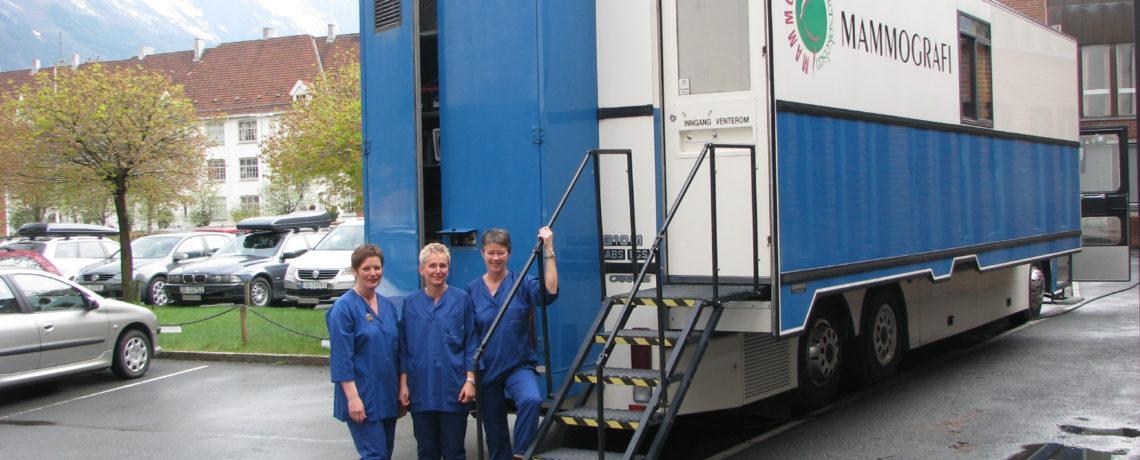 Mammografibussen kommer til Hitra