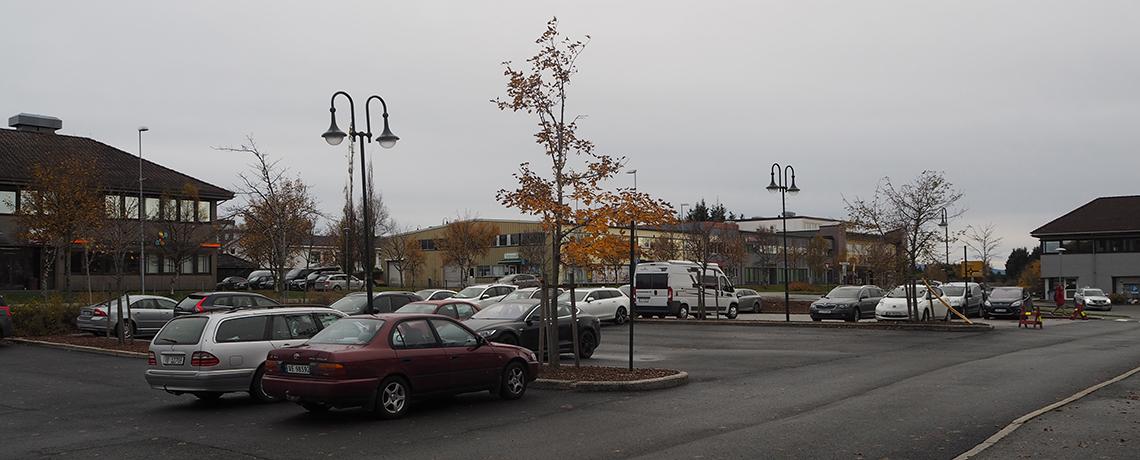 Redusert parkeringsmulighet uke 43