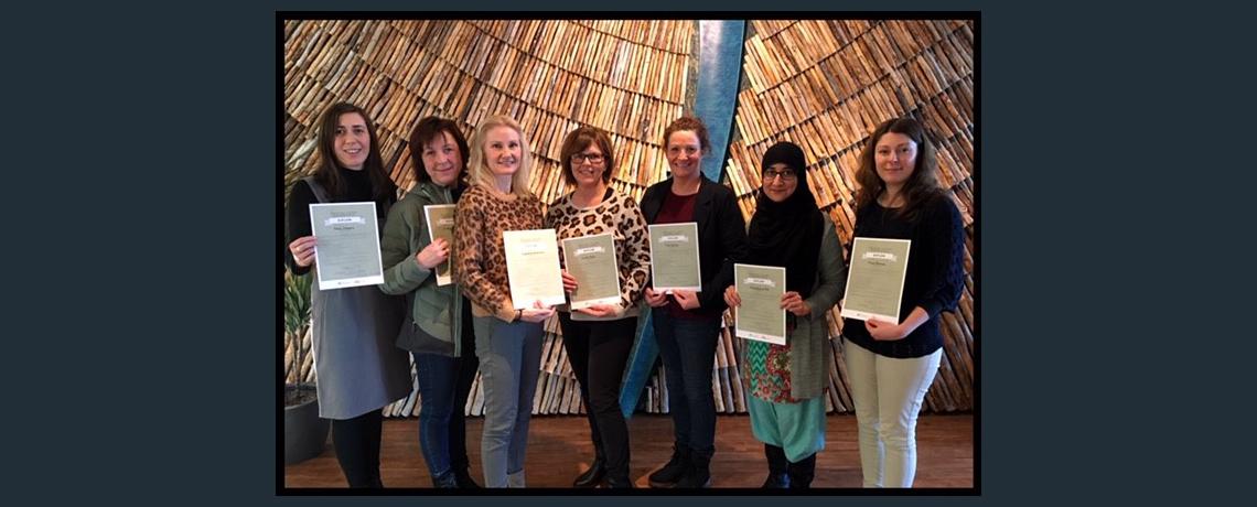 Flere nylig sertifiserte ICDP-veiledere i kommunen