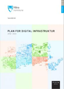 Forside til Plan for digital infrastruktur