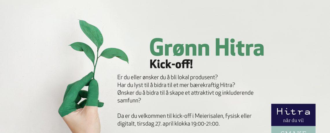 Påmelding til Kick-off for Grønn Hitra